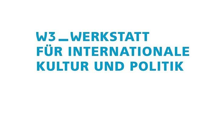 Das Logo des Vereins W3 – Werkstatt für internationale Kultur und Politik e.V.
