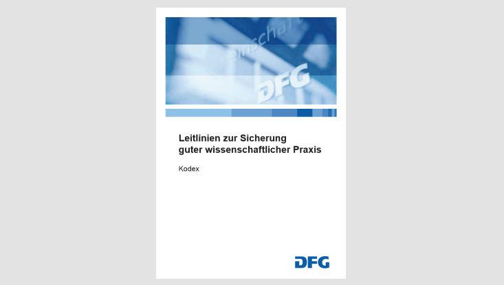 Titelblatt Kodex Gute wissenschaftliche Praxis