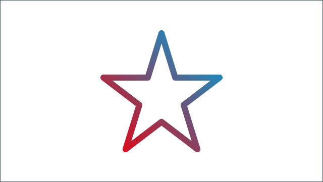 Das Icon zeigt ein Sternsymbol.