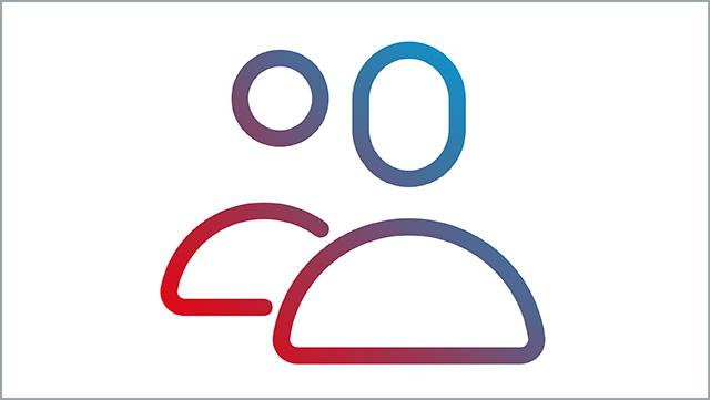 Das Icon zeigt mehrere Personen als Symbol.