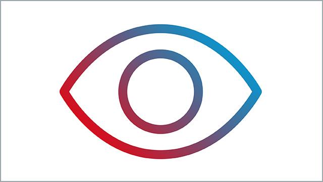 Das Icon zeigt ein Augensymbol.