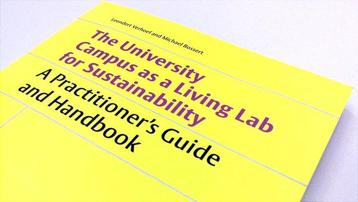 Foto vom gelben Buchcover