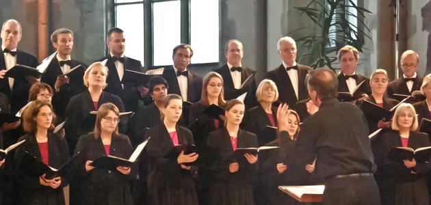 Sängerinnen und Sänger des Monteverdi-Chores