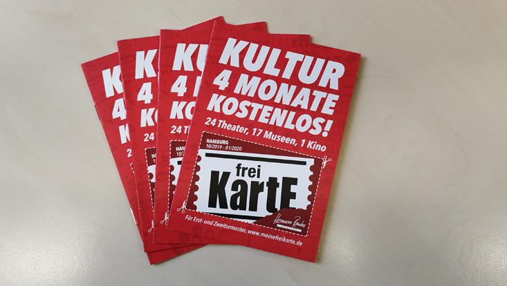 Die Freikarte - vier Monate kostenlosen Eintritt zu 42 Einrichtungen in ganz Hamburg