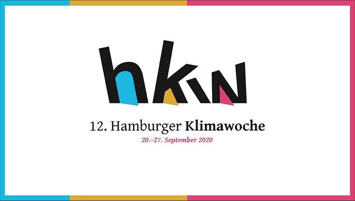 Das Logo der 12. Hamburger Klimawoche
