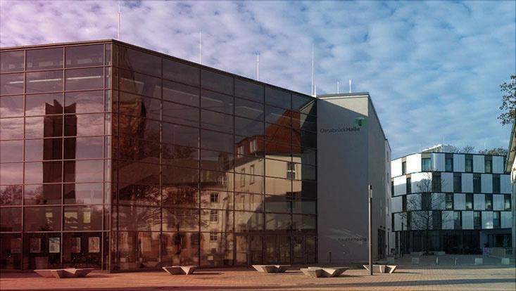 Das Bild zeigt die Osnabrückhalle.