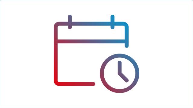 Das Bild zeigt ein Icon für einen Kalender