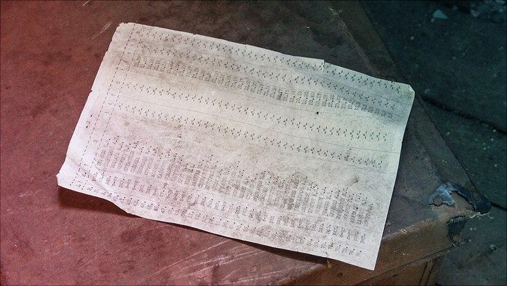 Bild von einer Liste