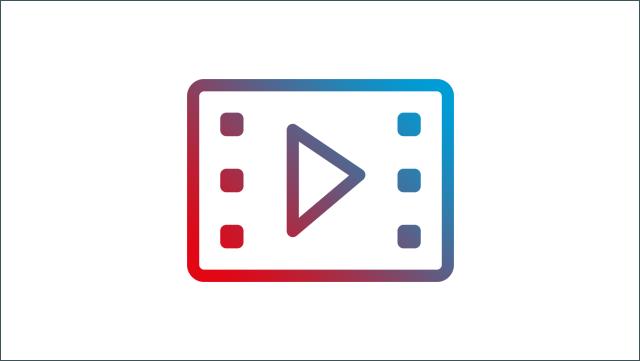 Das Bild zeigt ein Icon für ein Video