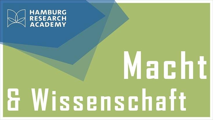 """Logo HRA Salon zum Thema """"Macht und Wissenschaft"""""""