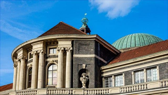 Universitätshauptgebäude der Universität Hamburg Edmund-Siemers-Alle 1