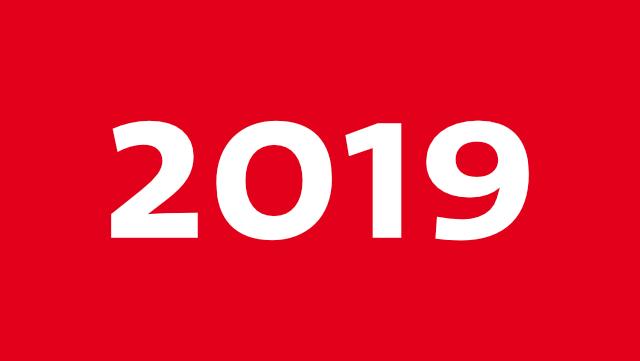 Grafik mit Schrift 2019