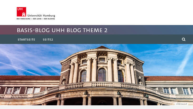 UHH Blog Theme 2
