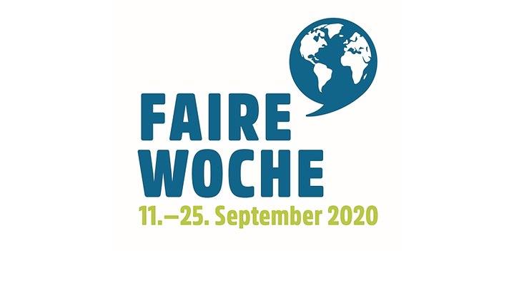 Das Logo der Fairen Woche mit dem Aktionszeitraum vom 11. bis 25. September 2020